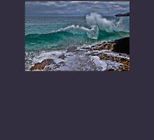 Panama. Bocas del Toro. Red Frog Beach. Crashing Waves. Unisex T-Shirt