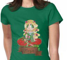 Virgo Seedling Womens Fitted T-Shirt