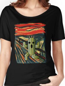 The cactilion scream Women's Relaxed Fit T-Shirt