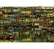 Brixham Harbour Photographic Print