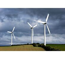 Small Wind Farm  Photographic Print