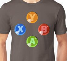 XBOX 360 Buttons Unisex T-Shirt