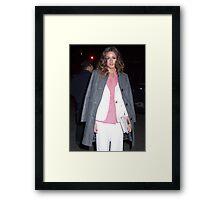 Olivia Palermo Framed Print