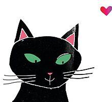 Black kat by messymy