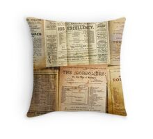 The Playbills Throw Pillow