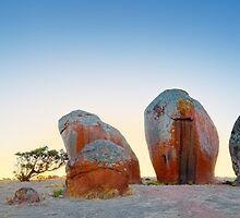 Murphys Haystacks, Eyre Peninsula, South Australia by Michael Boniwell