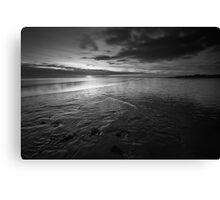 Foreshore Sunset - Lytham, Lancashire Canvas Print