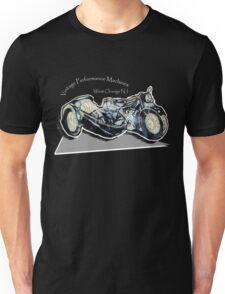 Vintage Performance Sidecar for Black Tee-Shirt Unisex T-Shirt