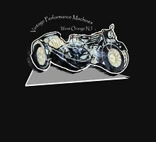 Vintage Performance Sidecar for Black Tee-Shirt Men's Baseball ¾ T-Shirt