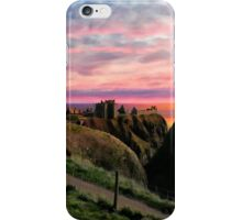 Dunnore Castle in the Sunset iPhone Case/Skin
