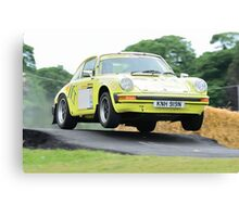 Rally Porsche 911 Canvas Print