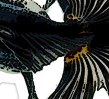 bug-eyed goldfish Sticker