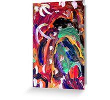abstract 11 Greeting Card