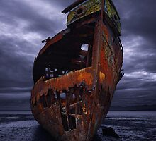 Ghost Ship  - Motueka, New Zealand by Mark Shean