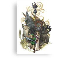 Zelda Canvas Print