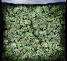 The Big Bag of Weed pillow by kushcoast