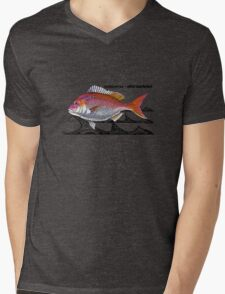 snapper - tribal waves Mens V-Neck T-Shirt