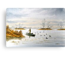 The Island Duck Blind Canvas Print