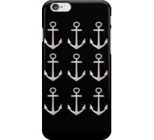 Anchor (multiple) iPhone Case/Skin