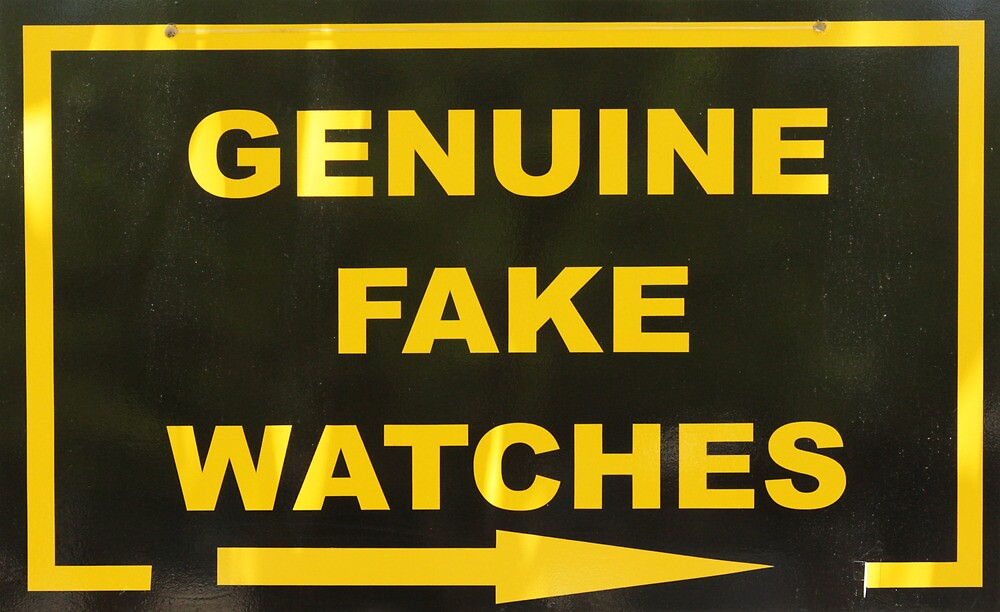 Genuine Fake Watches by plastictrees