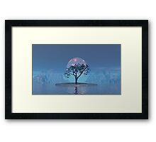 Solar Implosion on Norway Maple Fjord1 Framed Print