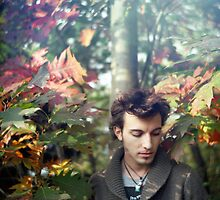 A Boy in Autumn by Francesca Wilkins