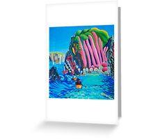 Canoe trip - GB south coast Greeting Card