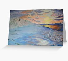 Morning in Iceland Greeting Card