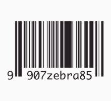 barcode zebra by Milkmaid