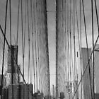 The Brooklyn Bridge, New York by k8em