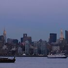 Manhattan Skyline from New Jersey by k8em