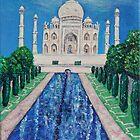 Taj Mahal by sandidobe