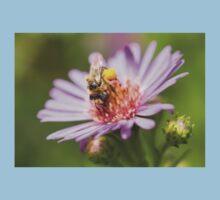 Cute bee on an Aster Kids Tee