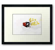 I carry a torch for you... Framed Print