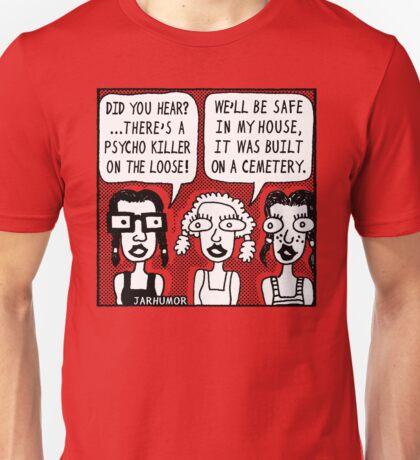 Horror Movie Sleepover Unisex T-Shirt
