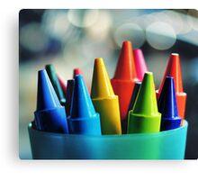 crayons.. Canvas Print