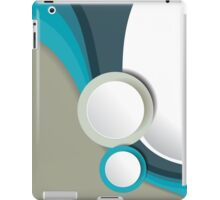 Modern Retro Style Pattern 1 iPad Case/Skin