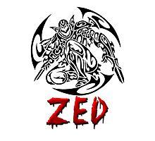 Zed Tribal Photographic Print