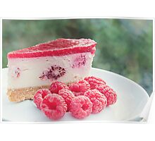 raspberry cheesecake.. Poster