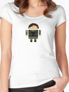 Droidarmy: Daniel Jackson Women's Fitted Scoop T-Shirt
