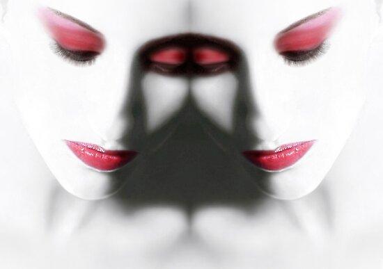 Illumination (alternate version) - Self Portrait by Jaeda DeWalt