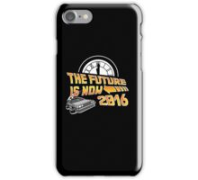 Back to the Future, The future is now 2016 iPhone Case/Skin