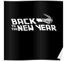 Back to the New Year (Back to the Future) Poster