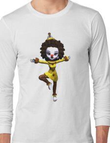 Dancing Clown Long Sleeve T-Shirt