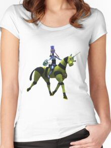 Sci-Fi Easter Women's Fitted Scoop T-Shirt