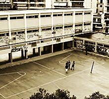 Schoolyard  by raphael aretakis