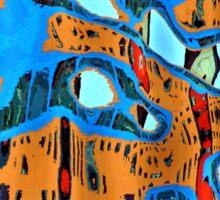 serengeti rising Sticker