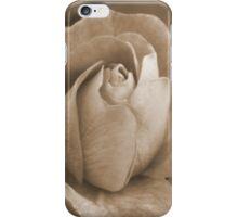 Rose in Sepia iPhone Case/Skin