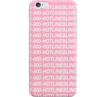 1-800-HotlineBling  iPhone Case/Skin