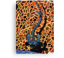 209 - 'A' IS FOR ANCHOR - COLOURED PENCILS - 2008 Canvas Print
